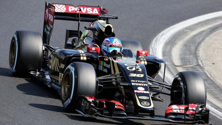 Jolyon Palmer, Lotus, Hungaroring, 2015