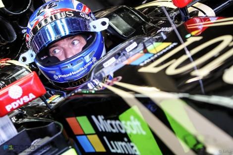 Jolyon Palmer, Lotus, Silverstone, 2015