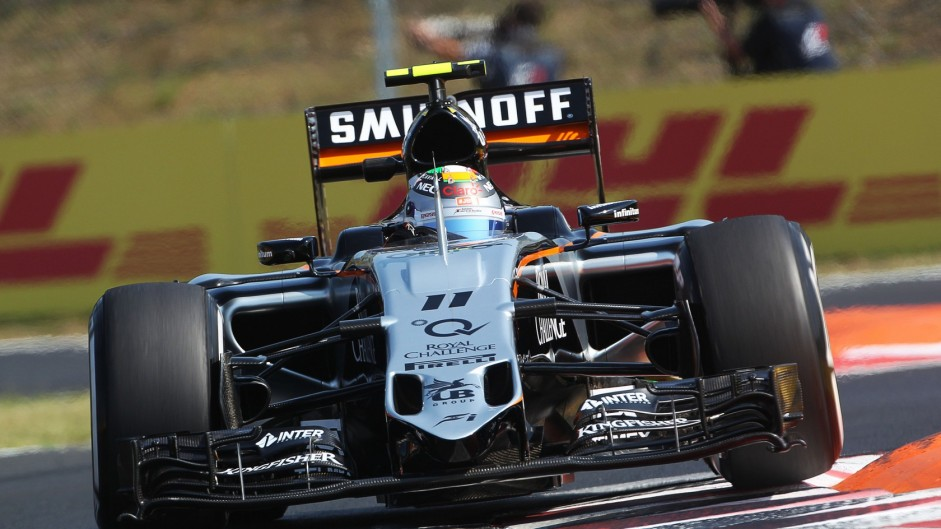 Force India miss second practice after Perez crash