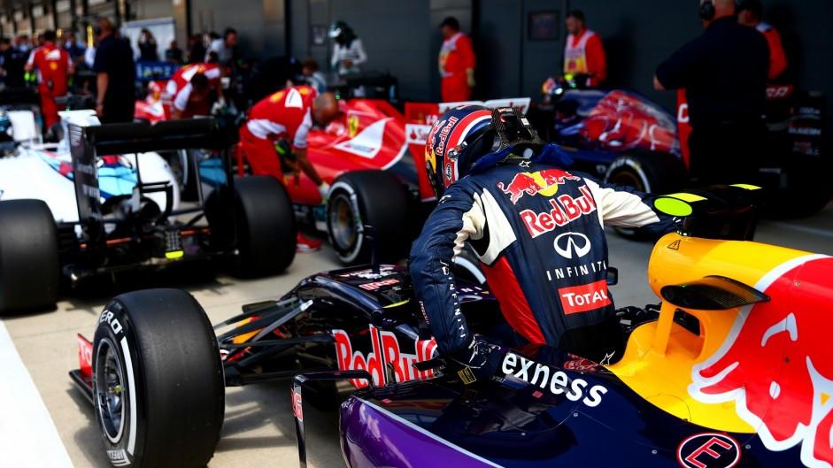 Daniil Kvyat, Red Bull, Silverstone, 2015