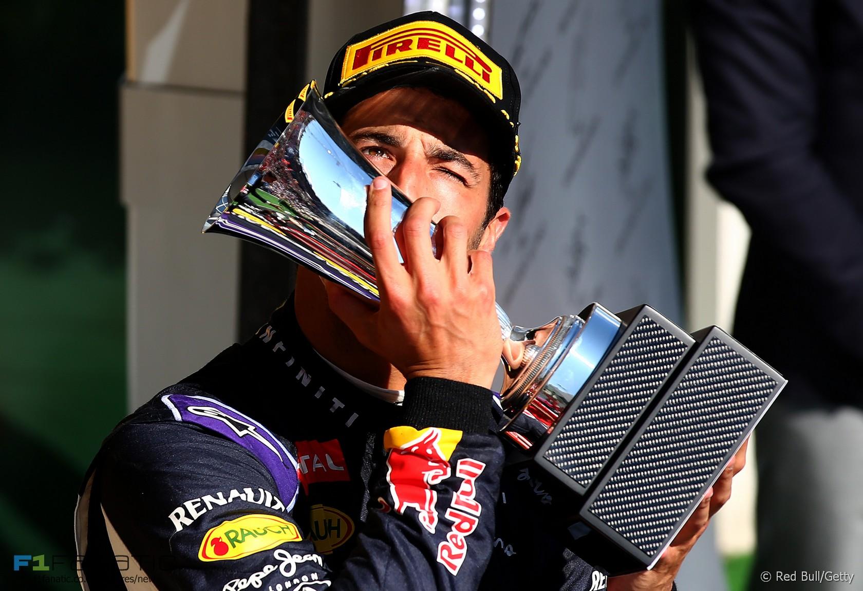 Daniel Ricciardo, Red Bull, Hungaroring, 2015
