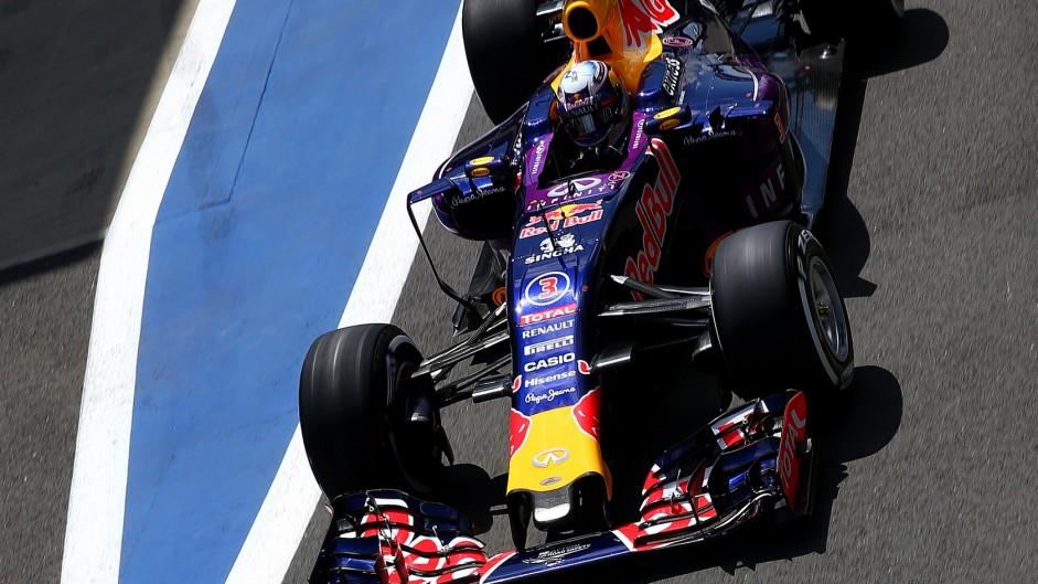 Daniel Ricciardo, Red Bull, Silverstone, 2015