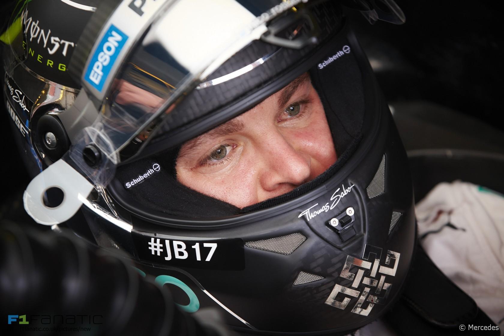 Nico Rosberg, Mercedes, Hungaroring, 2015