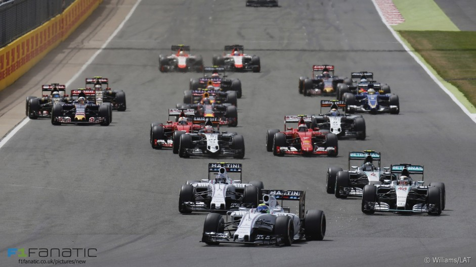 2016 British Grand Prix TV Times