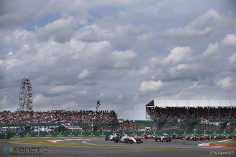 Start, Silverstone, 2015
