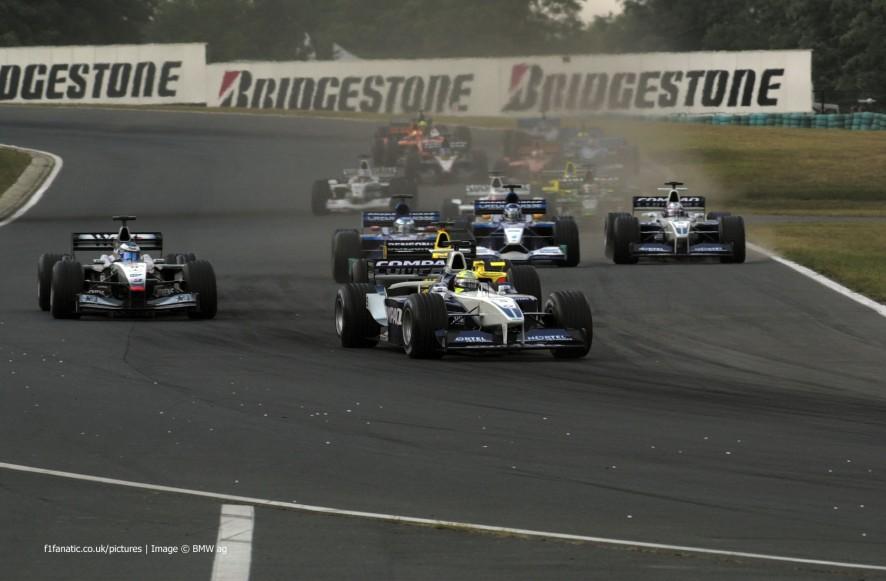 Start, Hungaroring, 2001