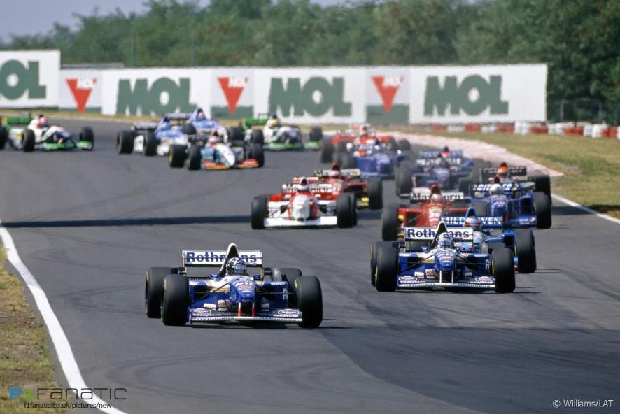 Start, Hungaroring, 1995