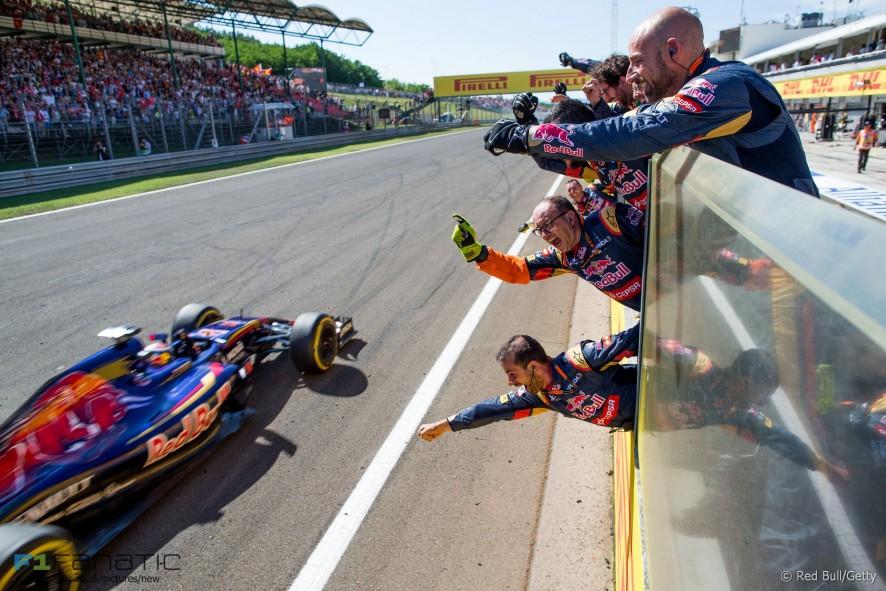 Max Verstappen, Toro Rosso, Hungaroring, 2015