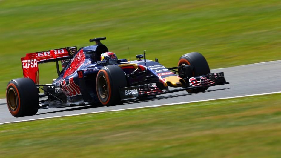 Max Verstappen, Toro Rosso, Silverstone, 2015