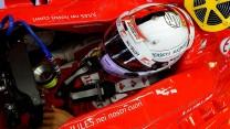 Sebastian Vettel, Ferrari, Hungaroring, 2015