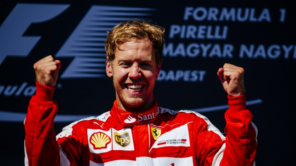 Vettel wins Driver of the Weekend for third time