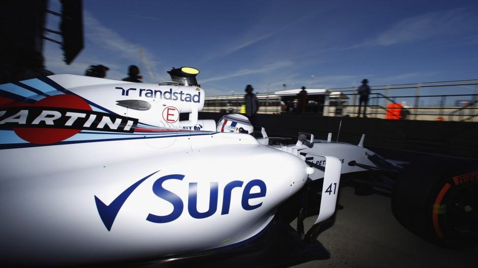 Susie Wolff, Williams, Silverstone, 2015