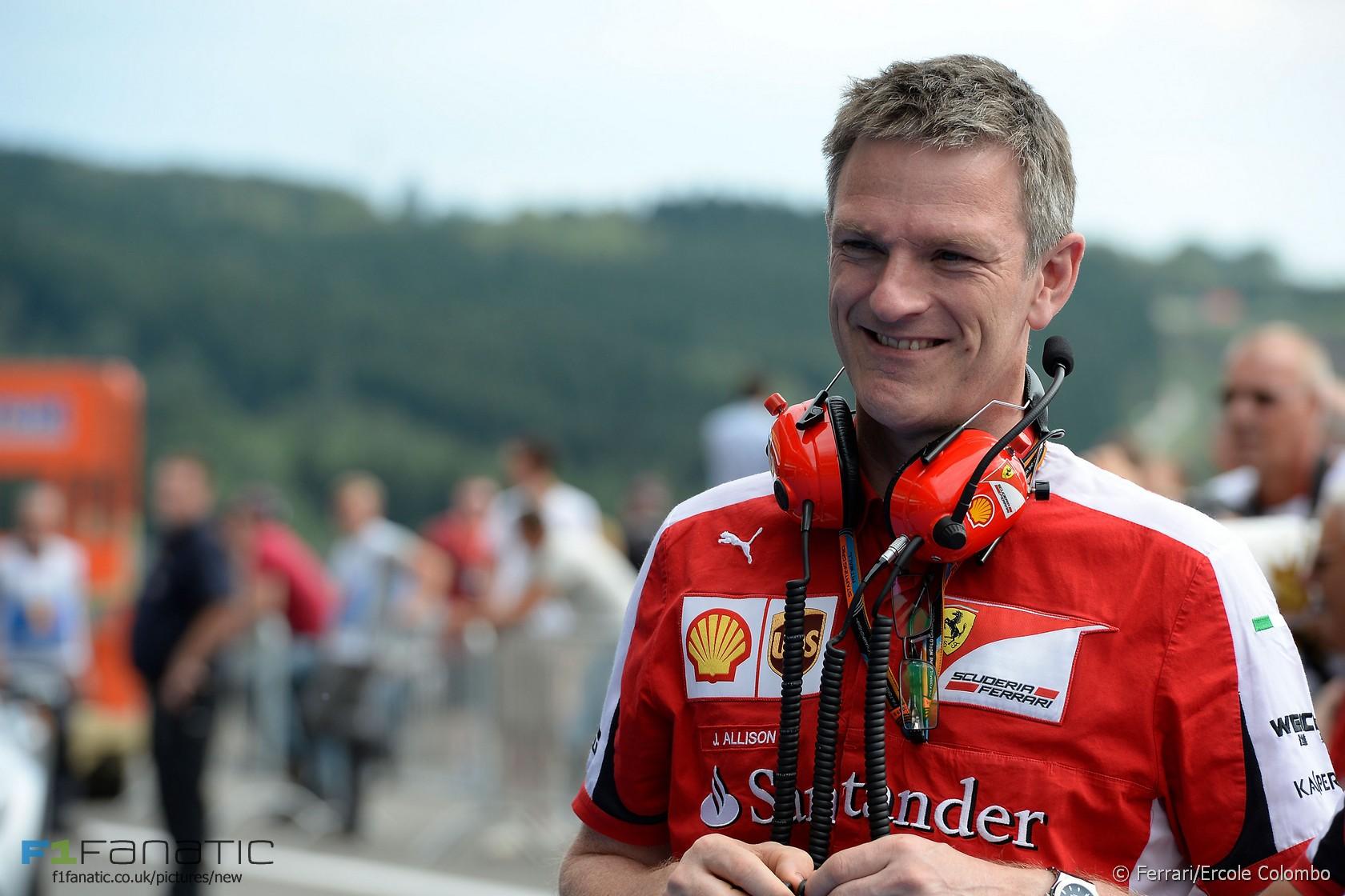 James Allison, Ferrari, Spa-Francorchamps, 2015