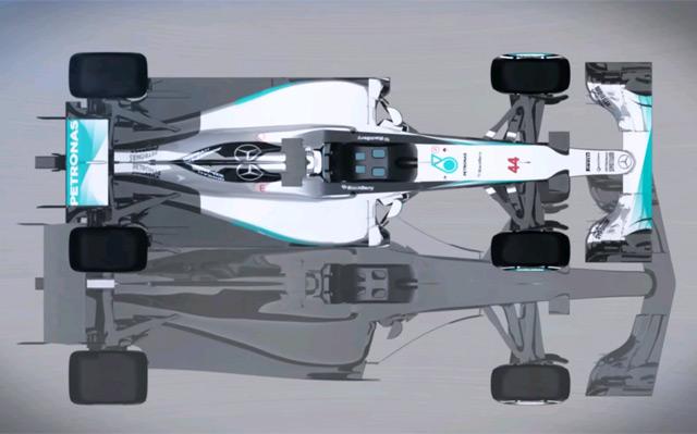 2017 F1 car design