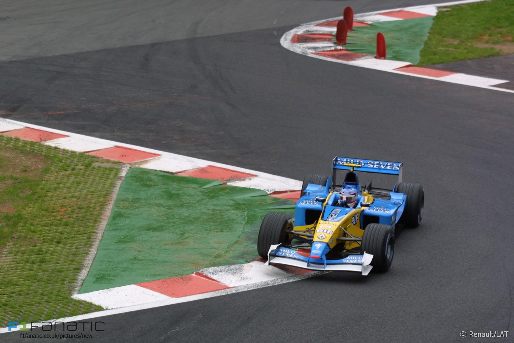 Jarno Trulli, Renault, Spa-Francorchamps, 2002
