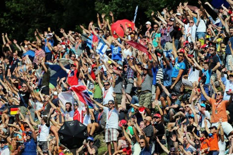 Crowd, Spa-Francorchamps, 2015