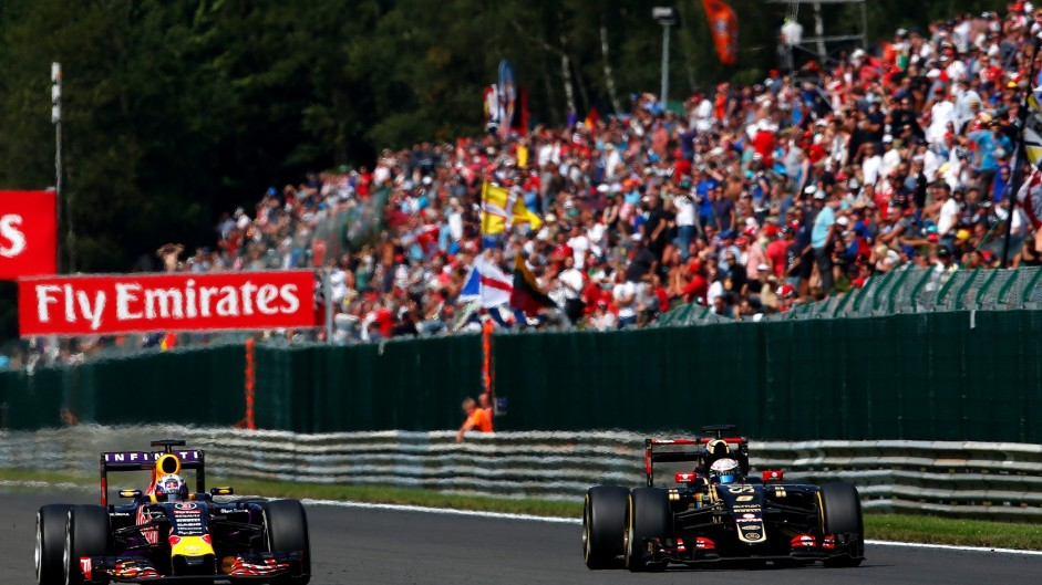 Track limits and DRS raise ire at Spa