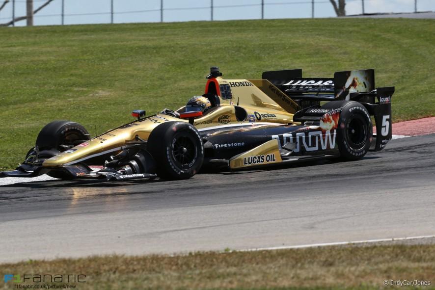 Ryan Briscoe, IndyCar Mid-Ohio, 2015