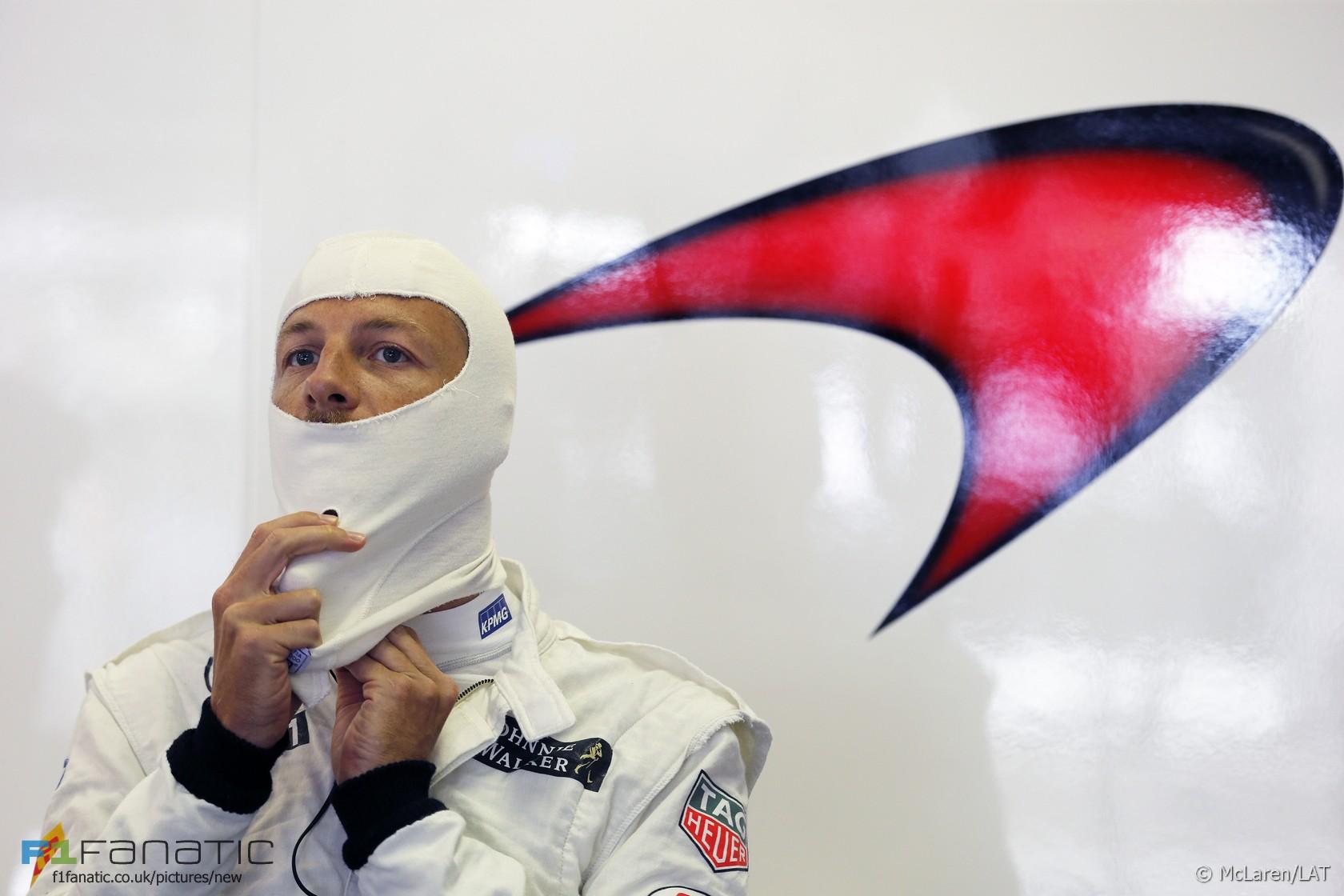 Jenson Button, McLaren, Hungaroring, 2015