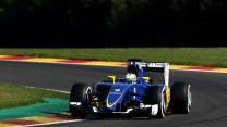 Marcus Ericsson, Sauber, Spa-Francorchamps, 2015