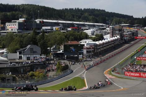 Start, Spa-Francorchamps, 2015