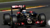 Romain Grosjean, Lotus, Spa-Francorchamps, 2015