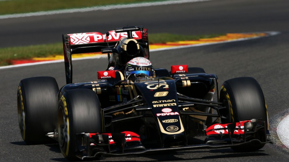 Third-placed Grosjean thought fifth was maximum