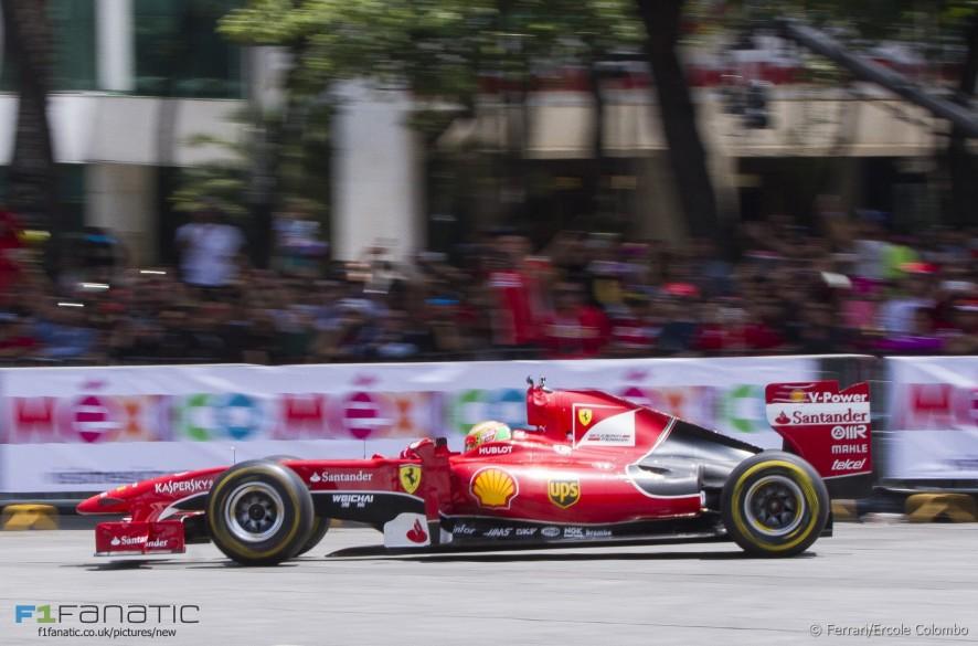 Esteban Gutierrez, Ferrari, Meixco, 2015