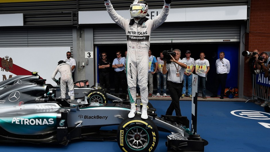 Hamilton boosts title lead as tyre row erupts at Spa