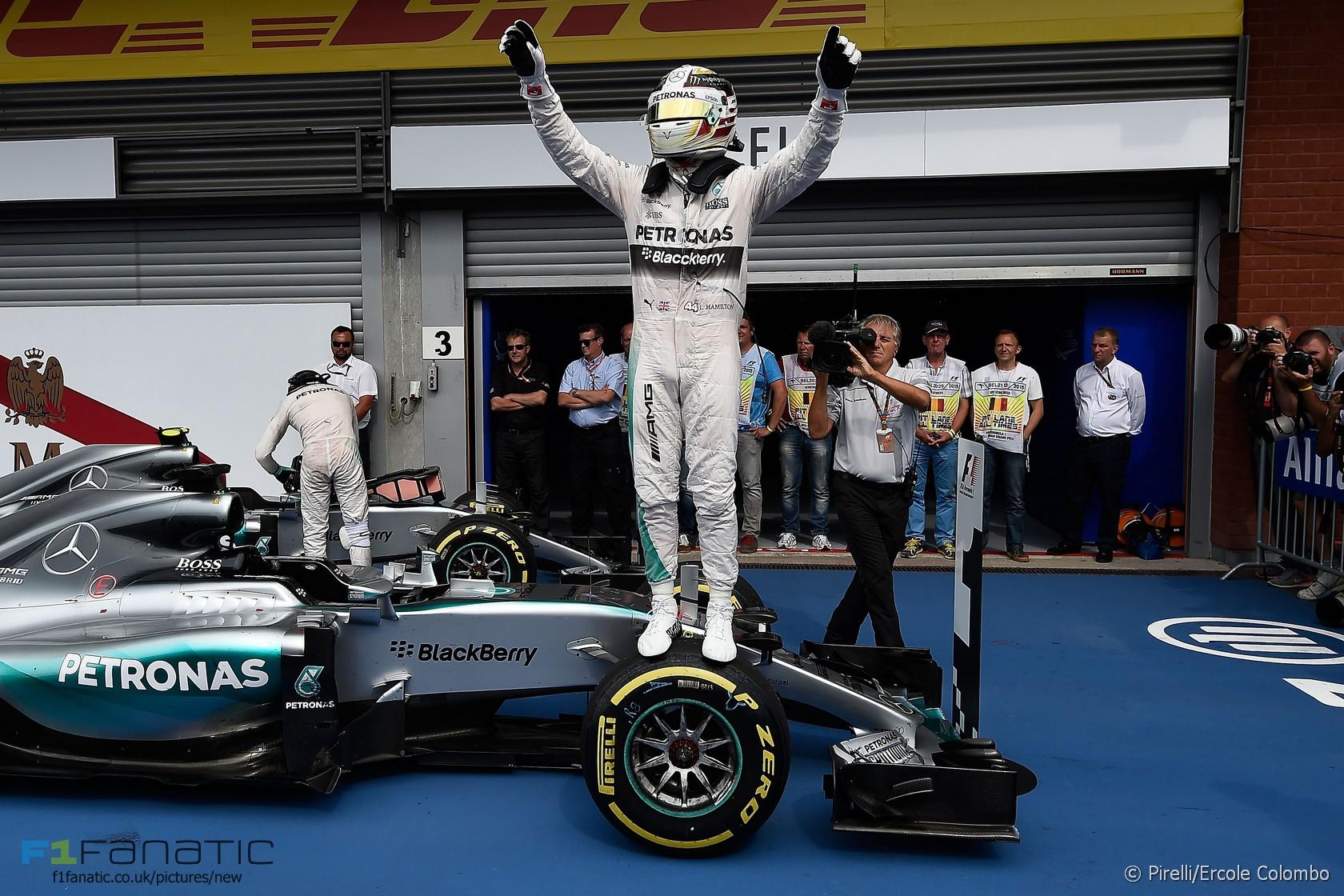 Lewis Hamilton, Mercedes, Spa-Francorchamps, 2015