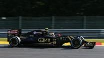 Pastor Maldonado, Lotus, Spa-Francorchamps, 2015