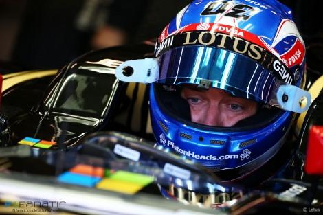 Jolyon Palmer, Lotus, Spa-Francorchamps, 2015
