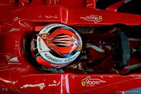 Kimi Raikkonen, Ferrari, Spa-Francorchamps, 2015