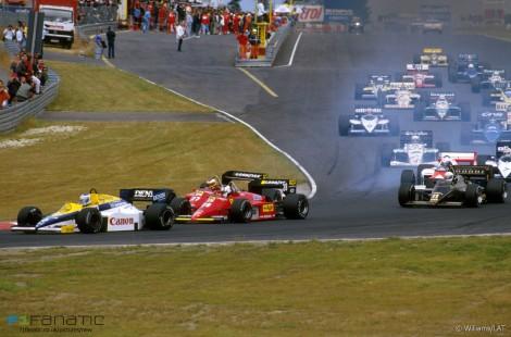Start, Nurburgring, 1985