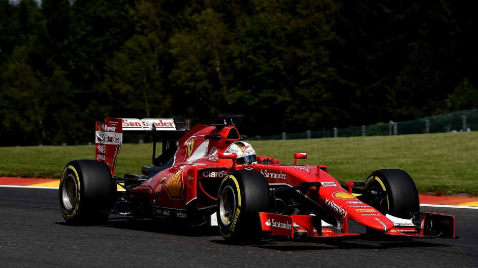 Ferrari not at fault over tyre blow-out – Vettel