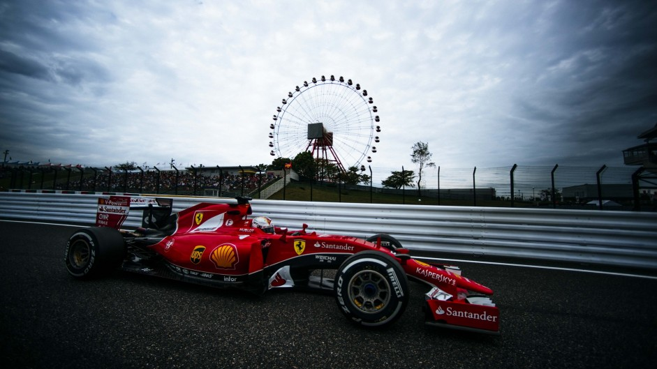 2015 Japanese Grand Prix qualifying in pictures