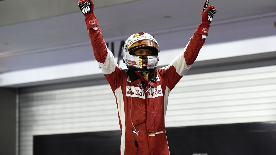 Vettel wins disrupted Singapore Grand Prix as Mercedes lose their way