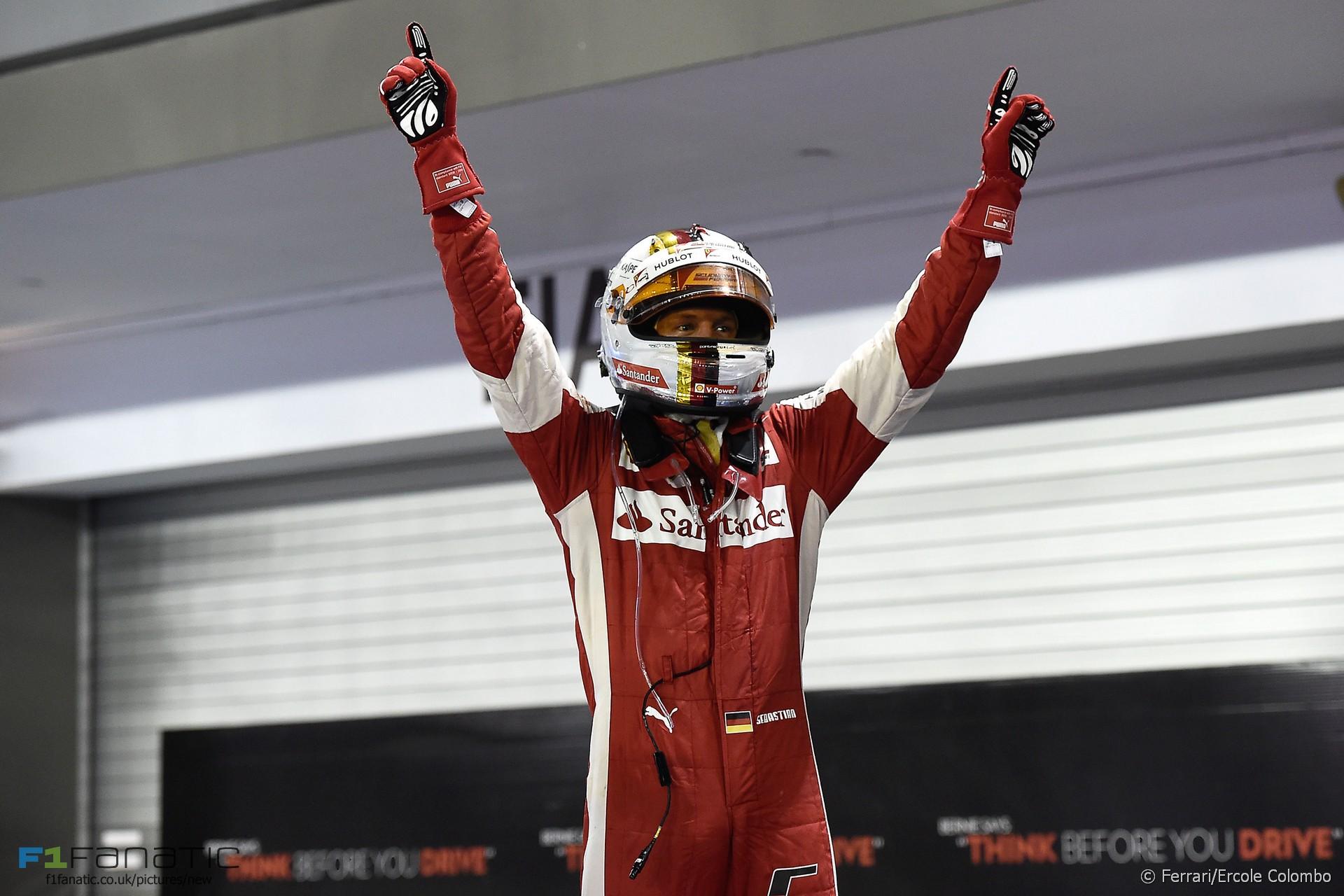 Sebastian Vettel Typy na GP Singapuru