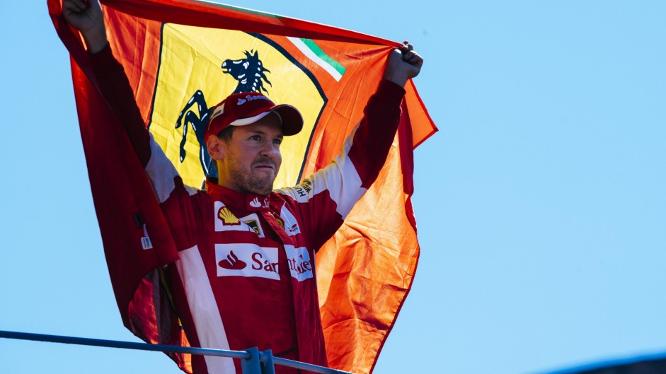 Sebastian Vettel voted F1 Fanatic Driver of the Year 2015