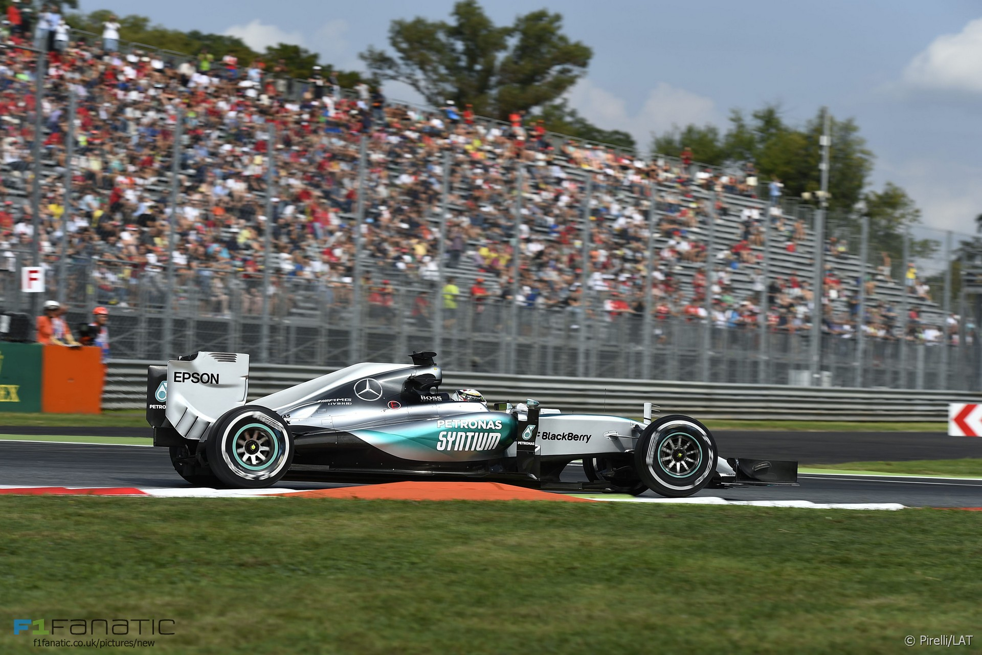 Lewis Hamilton, Mercedes, Monza, 2015