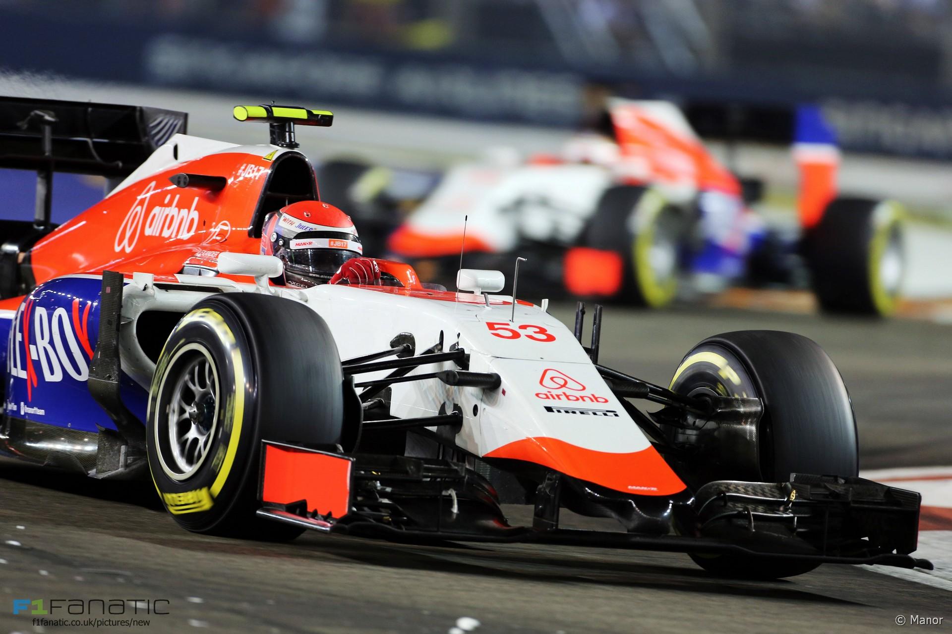 motor racing singapore
