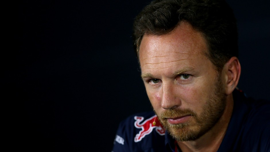 Horner expects no progress for Red Bull in 2016