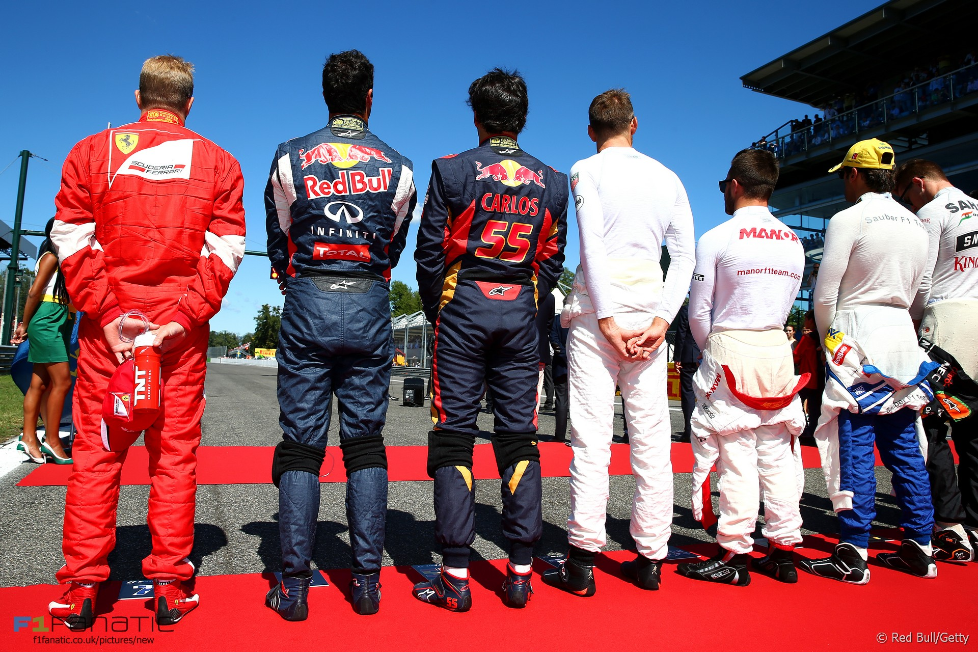 Drivers, Monza, 2015