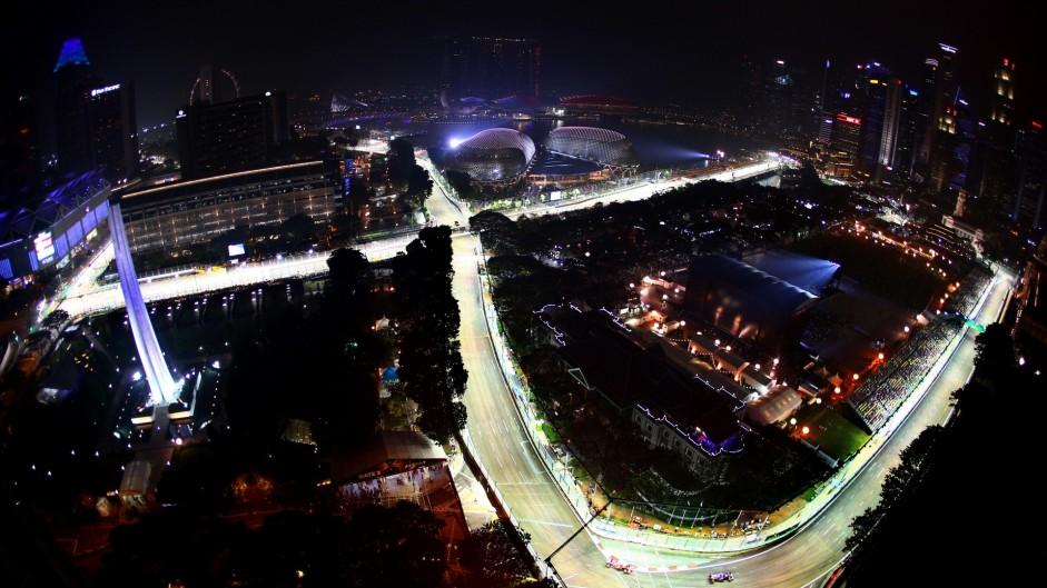 2015 Singapore Grand Prix practice in pictures