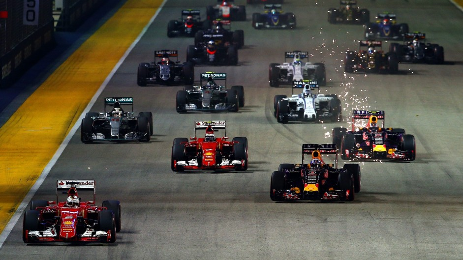 2015 Singapore Grand Prix in pictures