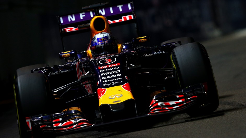 Daniel Ricciardo, Red Bull, Singapore, 2015