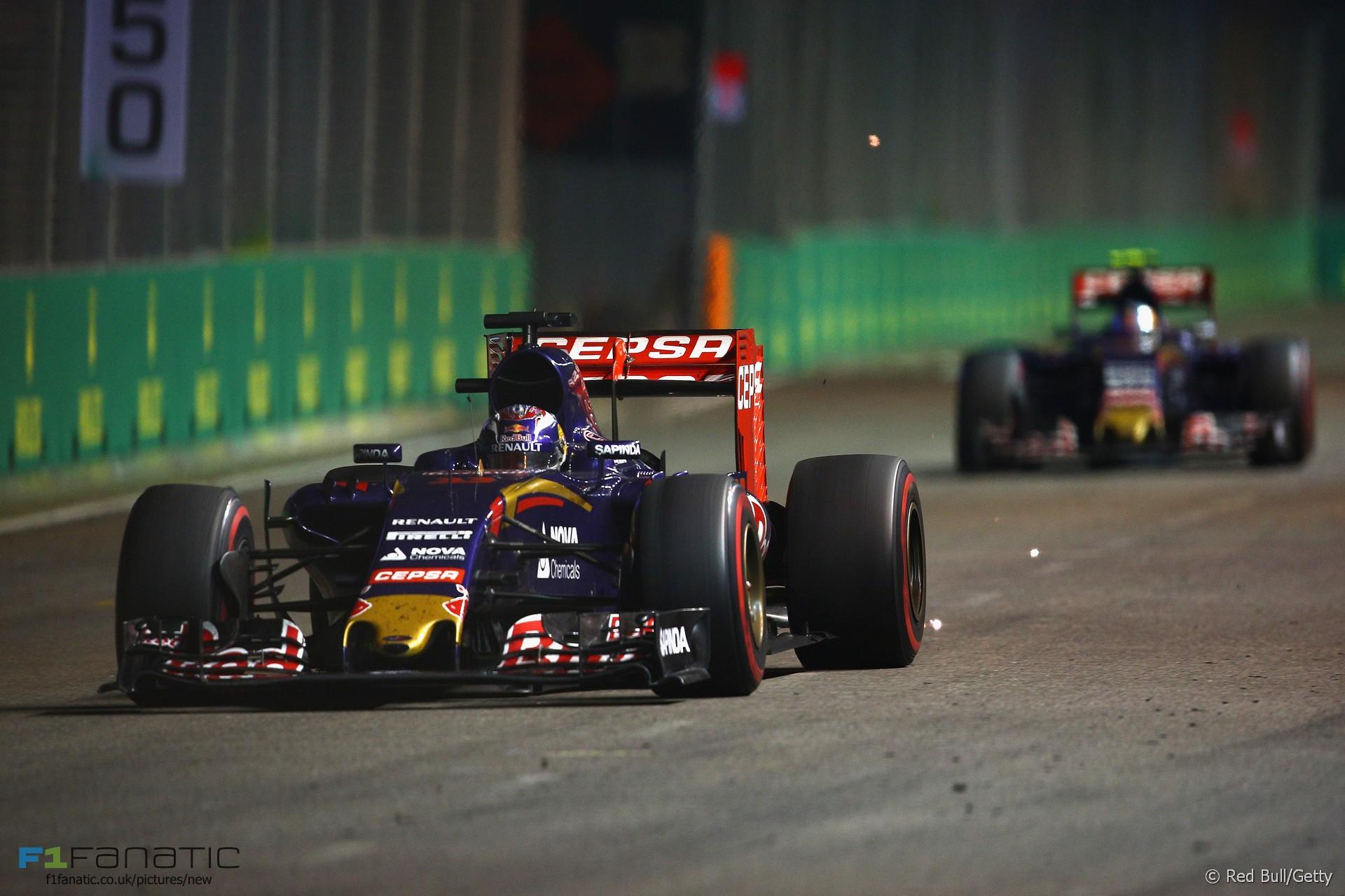 Max Verstappen, Toro Rosso, Singapore, 2015