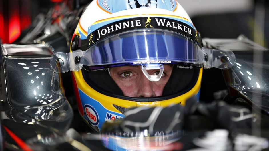 Alonso encouraged by comparison with Hamilton