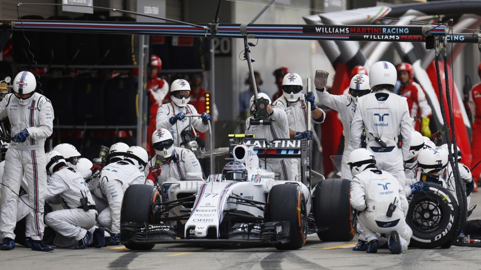 Ferrari and Williams rue second pit stop calls for Vettel and Bottas