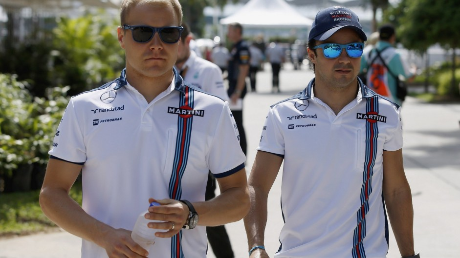 Bottas and Massa stay at Williams for 2016